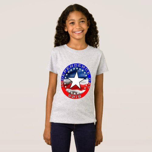 4th Of July  Fine Jersey T_Shirt