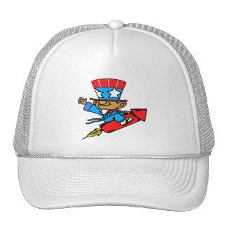 """4th of July: """"Firecracker"""" Trucker Hat"""