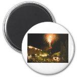 4th of July Fireworks Aspen CO Fridge Magnets