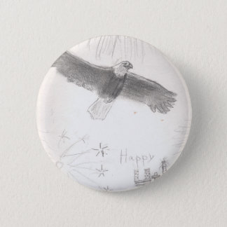 4'th of july fireworks bald eagle drawing eliana.j button