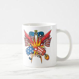 4th of July Fireworks Mug