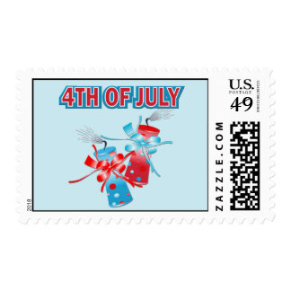4TH OF JULY FIREWORKS POSTAGE