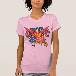 4th of July Fireworks Tee Shirt