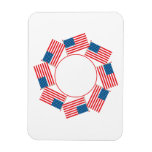 4th Of July Flexible Magnets
