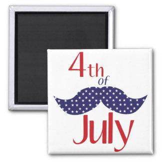 4th of July Fridge Magnet