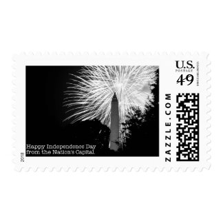 4th of July from Washington DC stamps