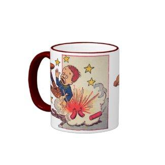 4th of July Gene Carr Illustration mug