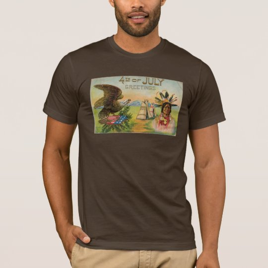 4th of July Greeting T-Shirt