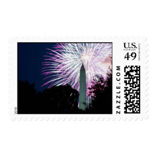 4th of July in Washington Stamps