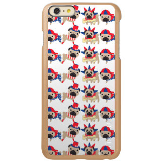 4th of July Independece Day Pugs Incipio Feather Shine iPhone 6 Plus Case