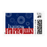 4th of July Independence Day Fireworks Postage