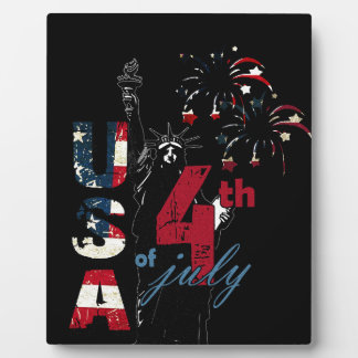 4th of July Independence Day Plaque