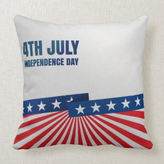 4th of July, Independence Day Throw Pillow