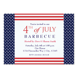 4th of July Independence Party Event Invitation