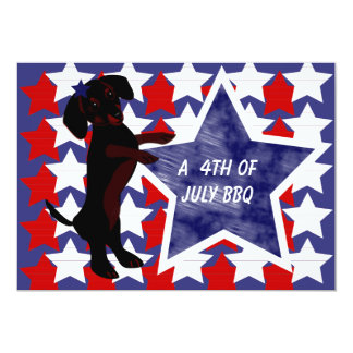 4th of July, Invitations