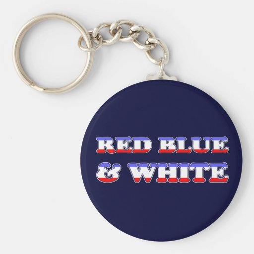 4th of July Keychain