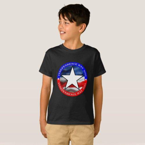 4th Of July  Kids Basic T_Shirt