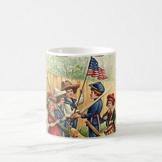 4th of July kids vintage Coffee Mug