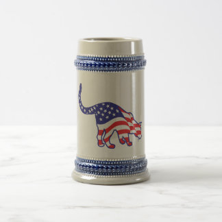 4th of July Kitty Cats Beer Stein