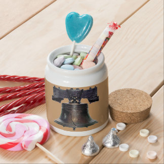4th of July Liberty Bell Candy Jars