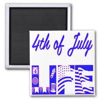 4th Of July Life FB.com/USAPatriotGraphics © Magnet
