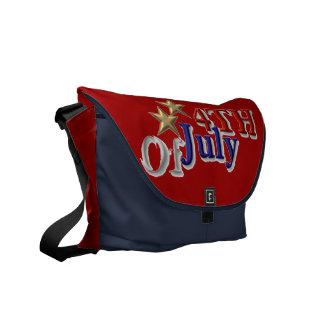 4th of July Messenger Bag