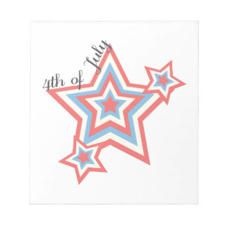 4th Of July Notepads
