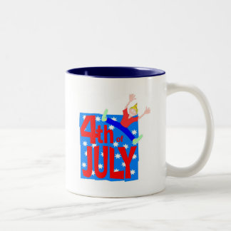 4th of July party guy Coffee Mug