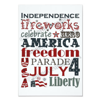 **4th OF JULY** PARTY INVITATIONS