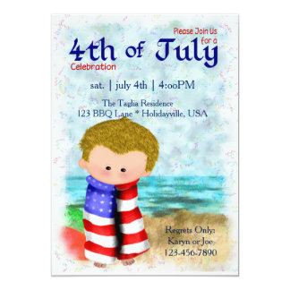4th of July Party Invite