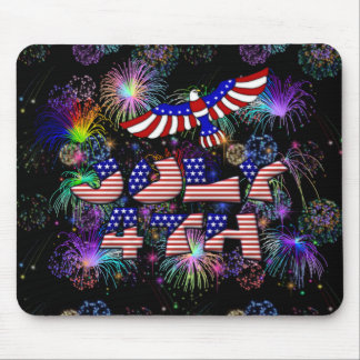 4th of July Party Mouse Pad