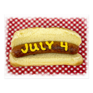 4th Of July Party Postcard