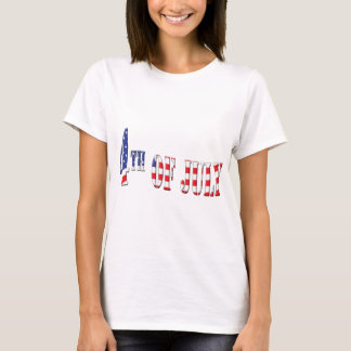4th of July Patriotic Colors T-Shirt