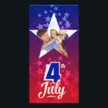 """4th of July personalized insert template<br><div class=""""desc"""">Keep your dearest memories of Independence Holiday with this personalized """"insert your photo"""" template. Easy customization.</div>"""