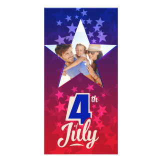 4th of July personalized insert template