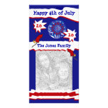 4th of July Photocard Photo Card Template