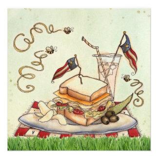 4th of July Picnic invite