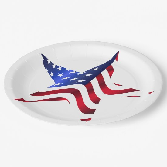 4th of July Picnic Paper Plates, Paper Plate