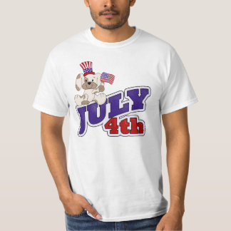 4th Of July Puppy T-Shirt