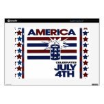 """4th of July Skin For 15"""" Laptop"""