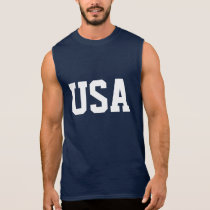 4th of July sleeveless shirt | USA apparel