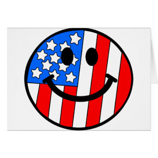 4th of July Smiley Cards
