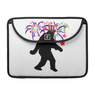 4th of July Squatchin' w/Fireworks MacBook Pro Sleeve
