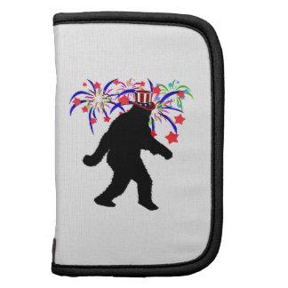 4th of July Squatchin' w/Fireworks Folio Planner