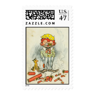 4th of July stamp