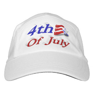 4th of July Star & Stripes 3D Performance Hat Headsweats Hat