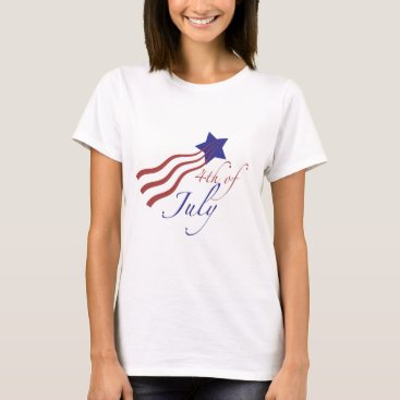Creations_by_Jen 4th of july stars and stripes T-Shirt