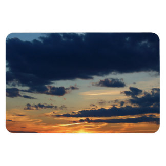 4th of July Sunset 2016 Magnet