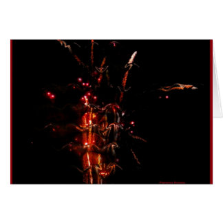 4th of July Synesthesia , card