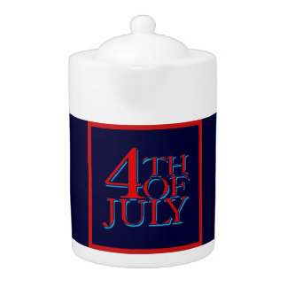 4th of July - Teapot